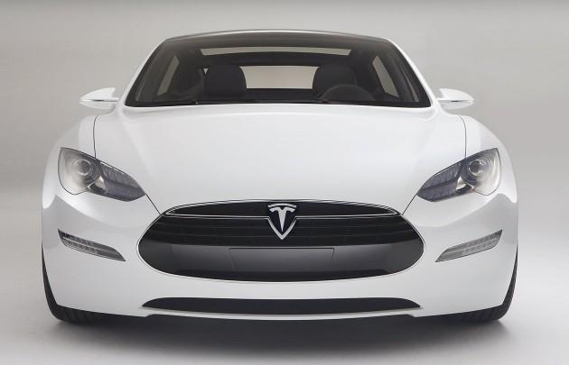 Tesla Model S concept
