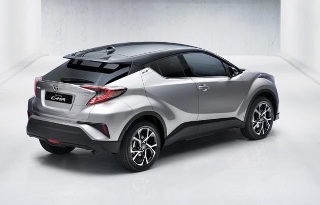 Toyota C-HR-rear