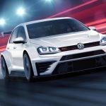 Volkswagen Golf GTI TCR racing car revealed