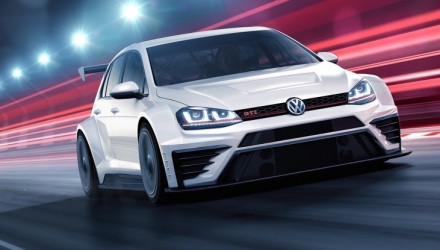 Volkswagen Golf GTI TCR racing car revealed