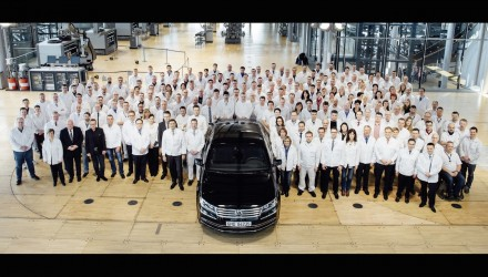 Volkswagen Phaeton production comes to an end