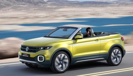 Volkswagen T-Cross Breeze hints at possible open-top SUV