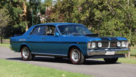 For Sale: Original 1971 Ford Falcon GT-HO Phase III