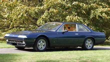 For Sale: Rare RHD 1988 Ferrari 412i Coupe in Australia