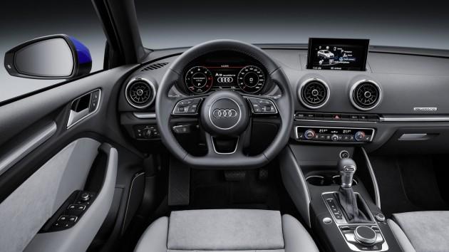 2016 Audi A3-dash