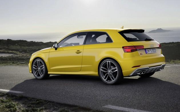 2016 Audi S3-rear