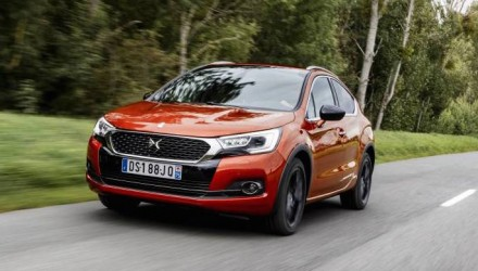 Citroen DS 4 Crossback on sale in Australia from $46,990