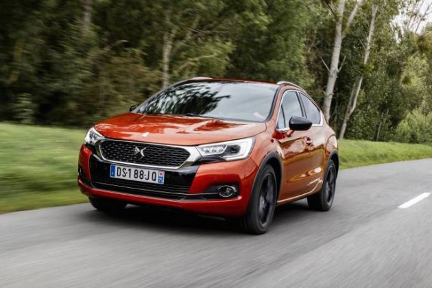 2016 Citroen DS 4 Crossback-front