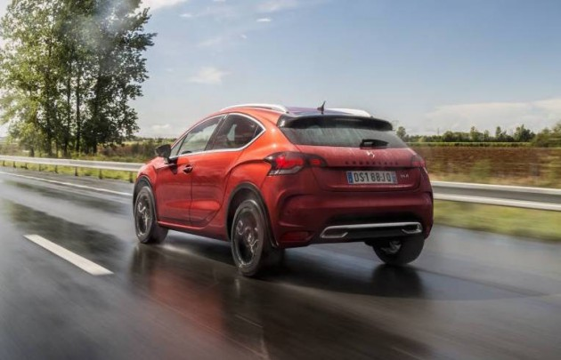 2016 Citroen DS 4 Crossback-rear