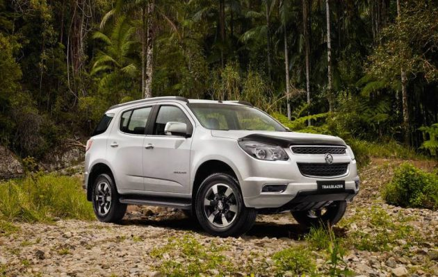 2016 Holden Colorado 7 Trailblazer