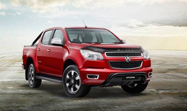 2016 Holden Colorado Storm