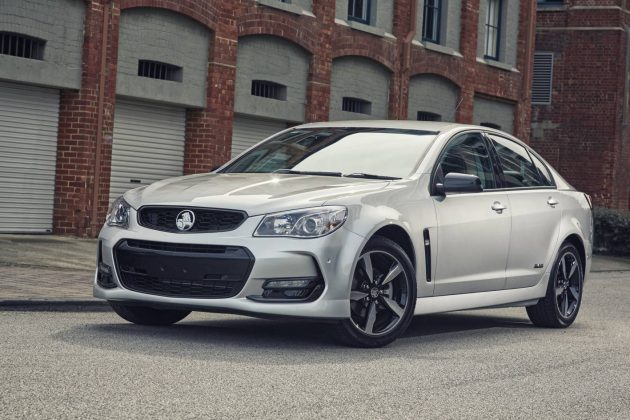 2016 Holden Commodore Black Edition