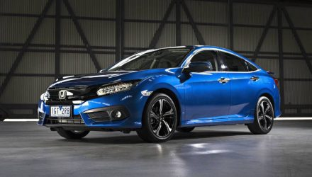2016 Honda Civic sedan priced from AU$22,390, debuts 1.5 turbo