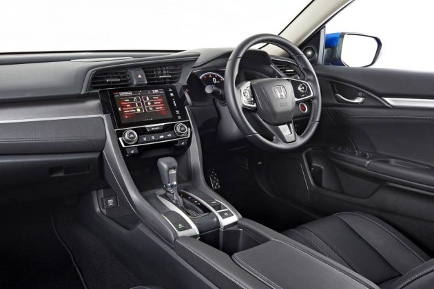 2016 Honda Civic RS sedan-interior
