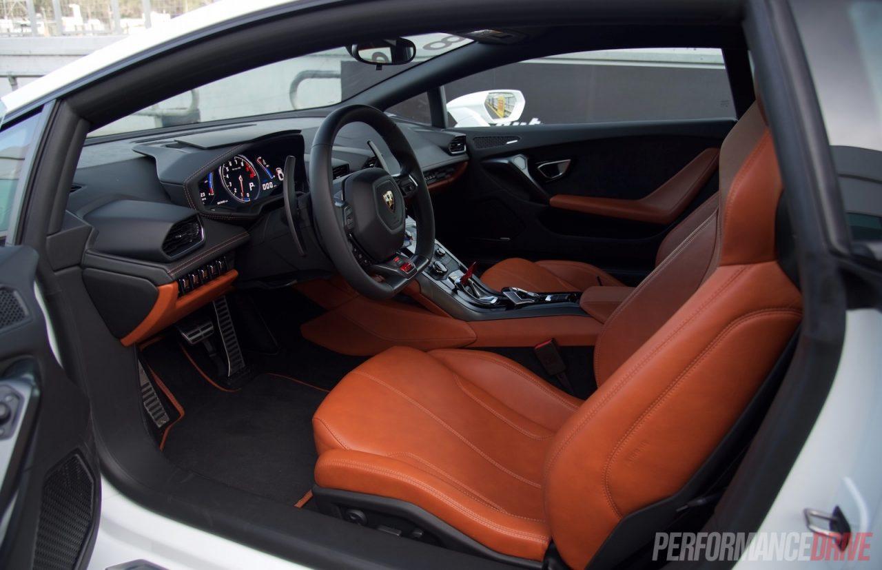 2016 lamborghini huracan lp 580 2 australia interior - Lamborghini Huracan Orange Interior