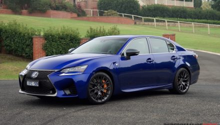 2016 Lexus GS F review (video)