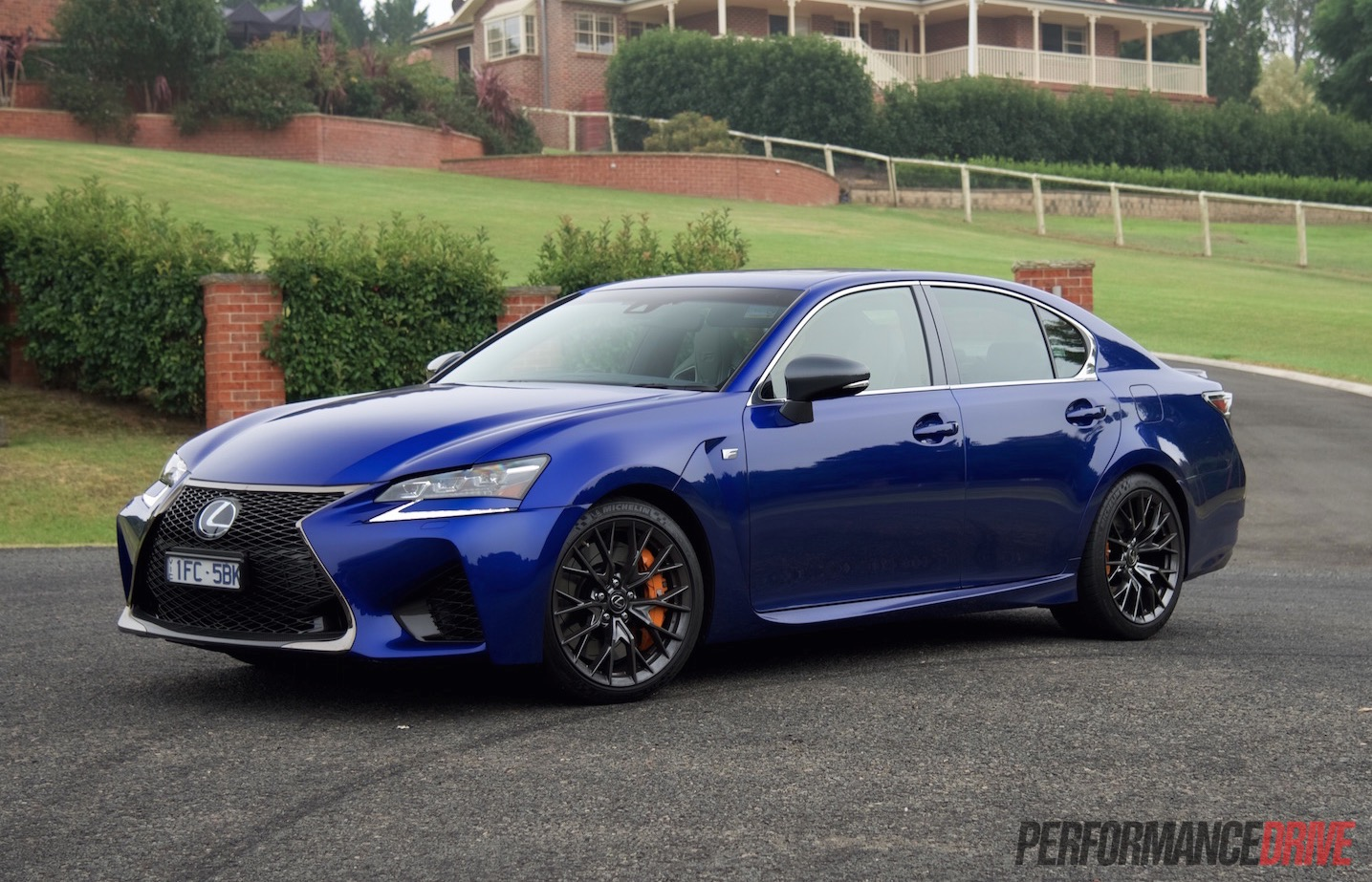 2016 lexus gs f review video performancedrive. Black Bedroom Furniture Sets. Home Design Ideas