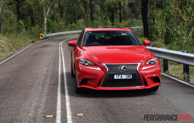 2016 Lexus IS 200t F Sport-headlights