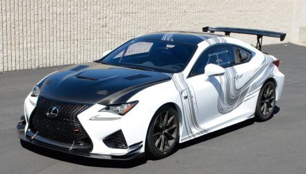 Lexus RC F GT Concept heading to Long Beach Grand Prix