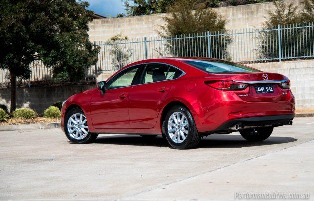 2016 Mazda6 Sport-rear