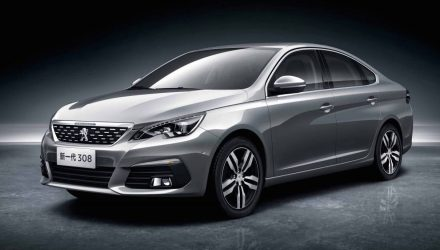 New China-only Peugeot 308 sedan & 3008 revealed