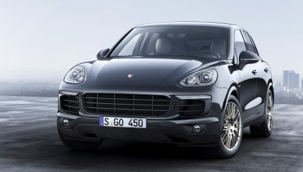 Porsche Cayenne Platinum Edition on sale in Australia from $110,700