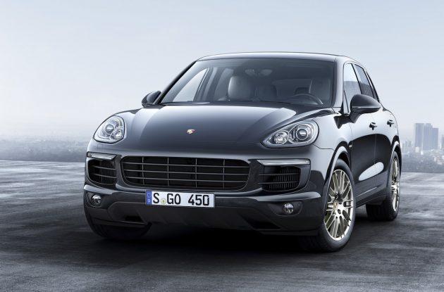 2016 Porsche Cayenne Platinum Edition