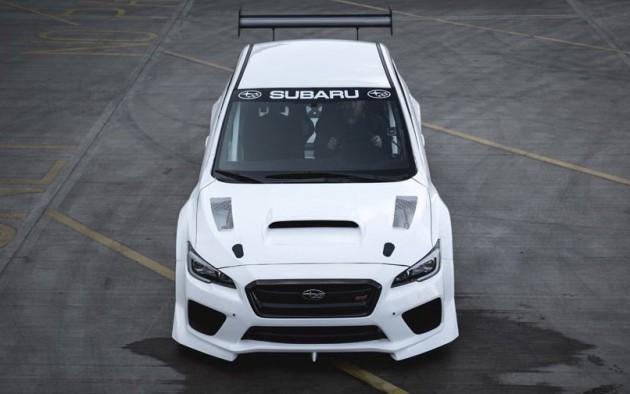 2016 Prodrive Subaru WRX STI-Mark Higgins-front