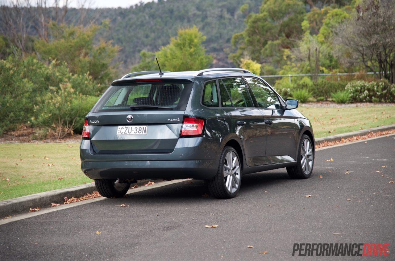 2016 skoda fabia 81tsi wagon review video performancedrive