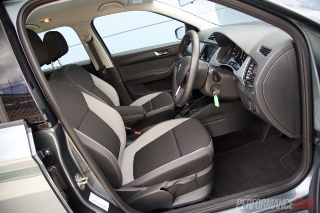 2016 Skoda Fabia 81TSI wagon-seats