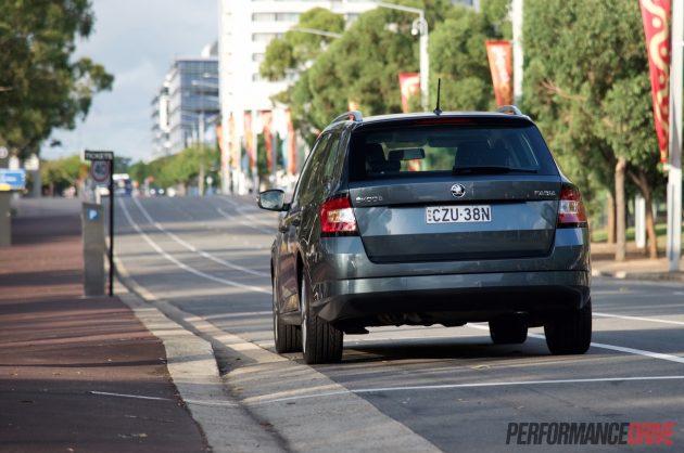 2016 Skoda Fabia 81TSI wagon-taillights