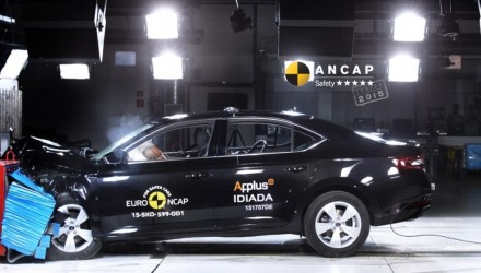 Jaguar XF, Skoda Superb, Kia Sportage, Holden Spark receive 5-star ANCAP rating