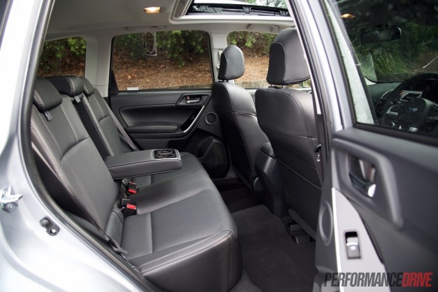 2016 Subaru Forester XT-rear seats