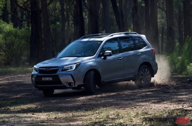 2016 Subaru Forester XT-sideways
