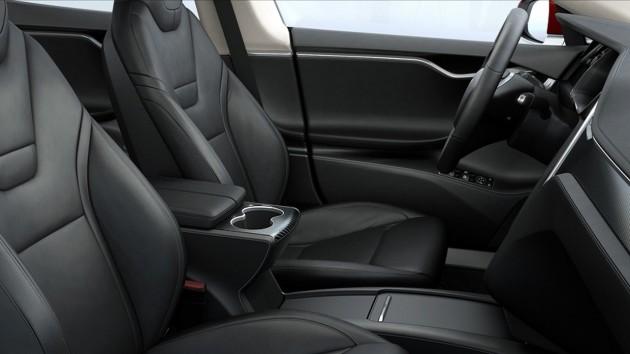 2016 Tesla Model S-interior