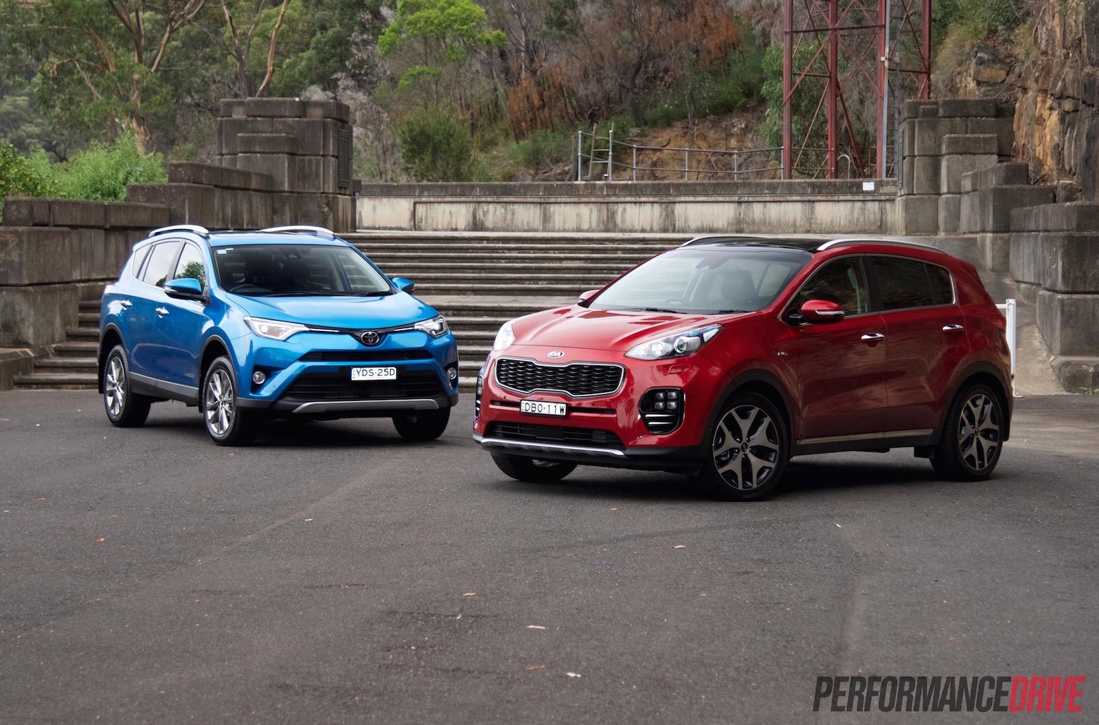 Range Rover Vs Land Rover >> Toyota RAV4 vs Kia Sportage: fleet car comparison ...