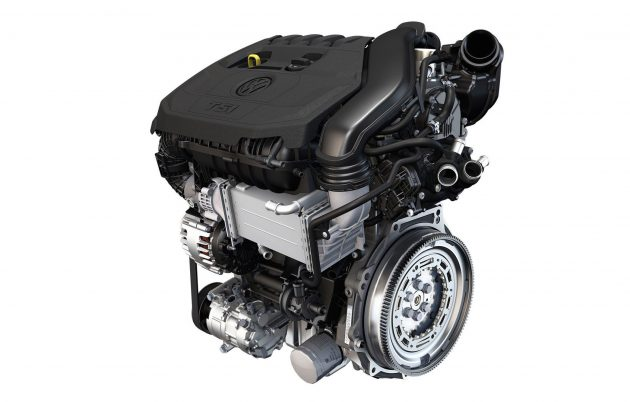 2016 Volkswagen 1.5 TSI evo engine