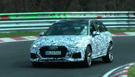 Video: 2017 Audi RS 4 Avant prototype spotted, sound of V6TT?