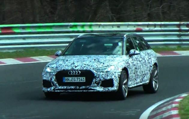 2017 Audi RS 4 Avant-prototype