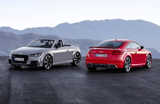 2017 Audi TT RS-coupe roadster