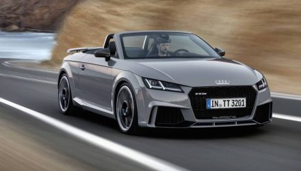 2017 Audi TT RS revealed, most powerful ever with new 2.5T
