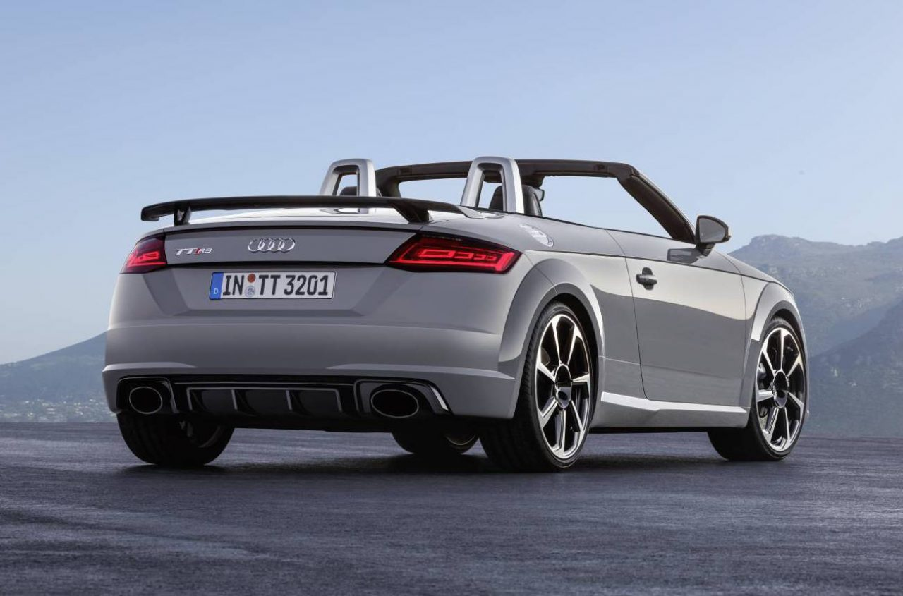2017 Audi Tt Rs Revealed Most Powerful Ever With New 2 5t