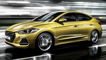 2017 Hyundai Elantra SR turbo revealed in South Korea