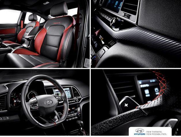 2017 Hyundai Elantra SR-interior