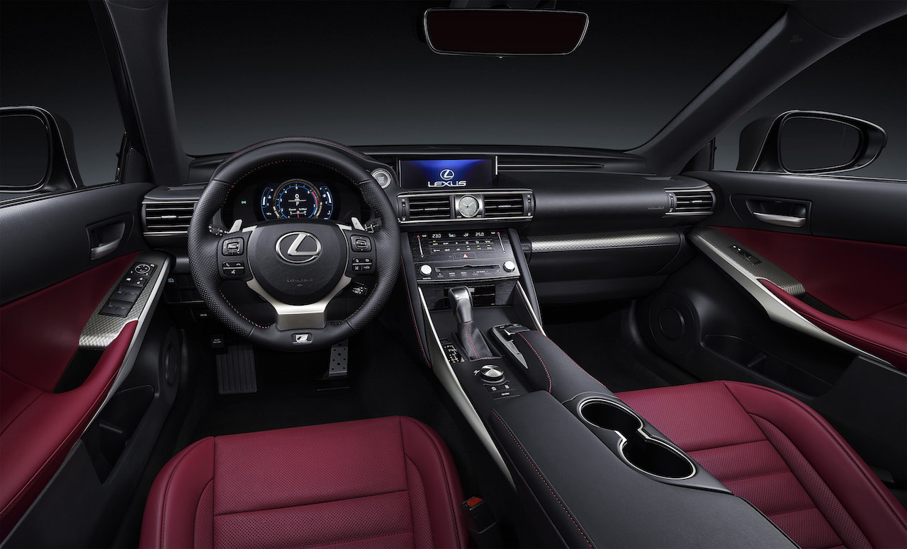 2017 lexus is facelift revealed at beijing motor show performancedrive. Black Bedroom Furniture Sets. Home Design Ideas