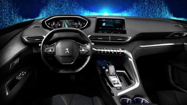 2017 Peugeot 3008 dash