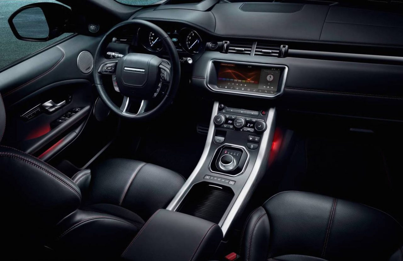 my2017 evoque update adds screen ember special edition performancedrive. Black Bedroom Furniture Sets. Home Design Ideas
