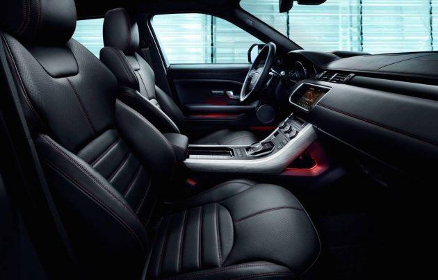 2017 Range Rover Evoque Ember-seats