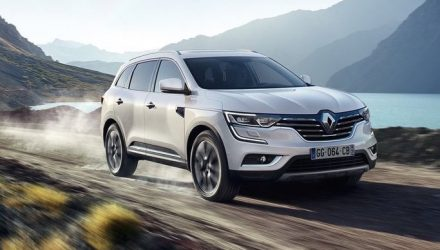 2017 Renault Koleos unveiled; larger, more upmarket