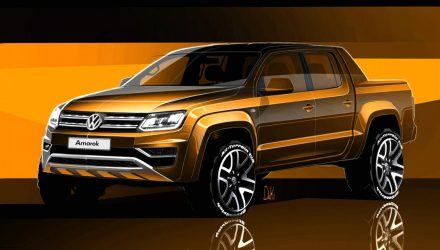 2017 Volkswagen Amarok facelift previewed